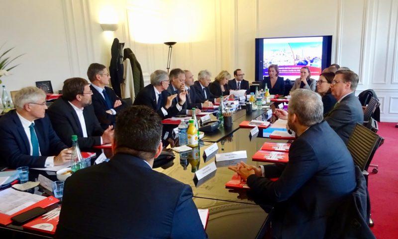 Rencontre A. de Montchalin et membres de la Franco-British Chamber